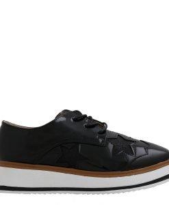 Pantofi dama Shirley negri - Incaltaminte Dama - Pantofi Dama