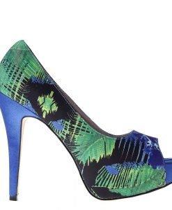 Pantofi dama Susanne albastri - Incaltaminte Dama - Pantofi Dama