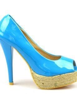 Pantofi dama bleu Hugs - Ultima Marime - Ultima Marime