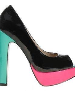Pantofi dama negri piele eco - Promotii - Lichidare Stoc