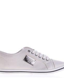 Pantofi sport barbati BK75 albi - Incaltaminte Barbati - Pantofi Sport Barbati