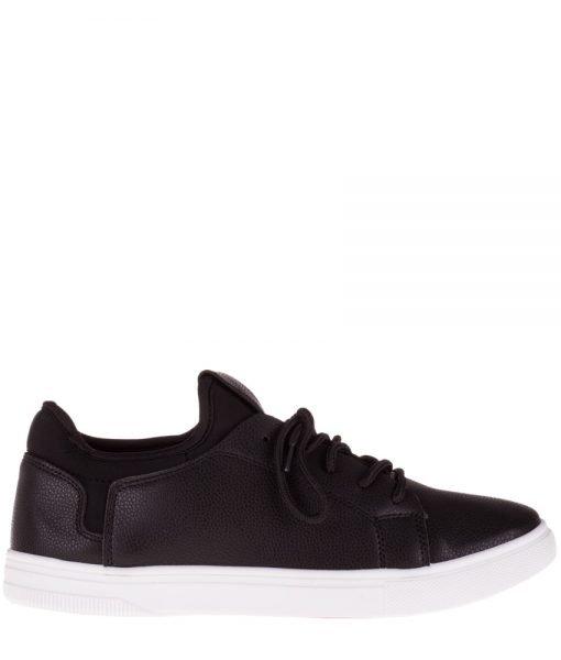 Pantofi sport barbati Beam negri – Incaltaminte Barbati – Pantofi Sport Barbati