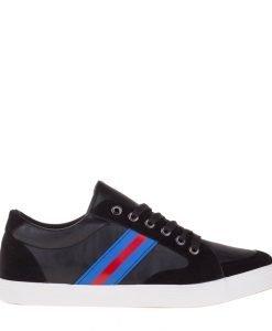 Pantofi sport barbati Bram negri - Incaltaminte Barbati - Pantofi Sport Barbati