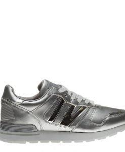 Pantofi sport barbati Elon argintii - Incaltaminte Barbati - Pantofi Sport Barbati