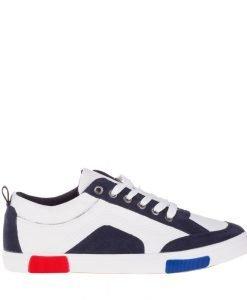 Pantofi sport barbati Herman albi - Incaltaminte Barbati - Pantofi Sport Barbati