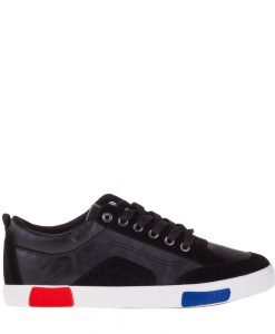 Pantofi sport barbati Herman negri - Incaltaminte Barbati - Pantofi Sport Barbati