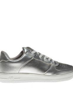 Pantofi sport barbati Hogan argintii - Incaltaminte Barbati - Pantofi Sport Barbati