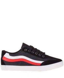 Pantofi sport barbati Hudson negri - Incaltaminte Barbati - Pantofi Sport Barbati