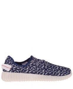 Pantofi sport barbati Kaleb albastru cu alb - Incaltaminte Barbati - Pantofi Sport Barbati