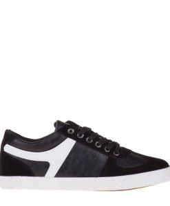 Pantofi sport barbati Slade negri - Incaltaminte Barbati - Pantofi Sport Barbati