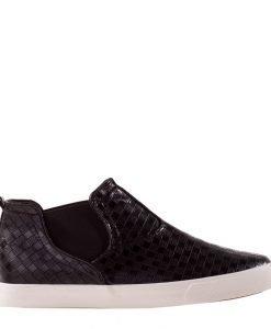 Pantofi sport barbati Wayne negri - Incaltaminte Barbati - Pantofi Sport Barbati