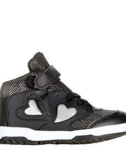 Pantofi sport copii Levy 2 negri - Incaltaminte Copii - Pantofi Sport Copii