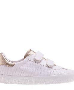 Pantofi sport copii Pinchi albi cu auriu - Incaltaminte Copii - Pantofi Sport Copii