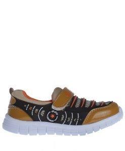 Pantofi sport copii Tedy maro cu bej - Incaltaminte Copii - Pantofi Sport Copii