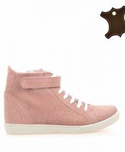 Pantofi sport copii piele IT-PSC001 roz - Promotii - Lichidare Stoc