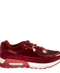 Pantofi sport dama Akira rosii - Incaltaminte Dama - Pantofi Sport Dama