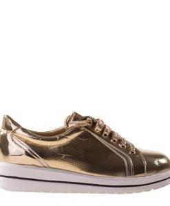 Pantofi sport dama Amber aurii - Incaltaminte Dama - Pantofi Sport Dama