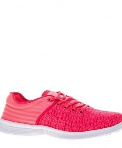 Pantofi sport dama Athalia roz neon - Incaltaminte Dama - Pantofi Sport Dama