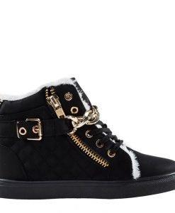 Pantofi sport dama Awwa negri - Incaltaminte Dama - Pantofi Sport Dama