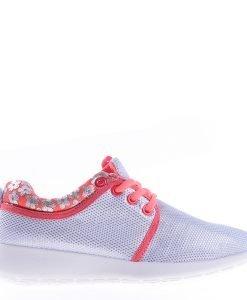 Pantofi sport dama B896 argintii - Incaltaminte Dama - Pantofi Sport Dama