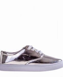 Pantofi sport dama Brandy argintii - Incaltaminte Dama - Pantofi Sport Dama