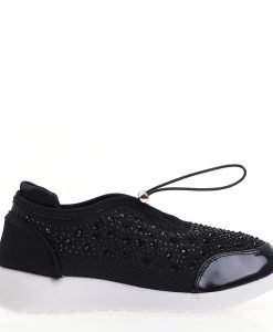Pantofi sport dama Brenda negri - Incaltaminte Dama - Pantofi Sport Dama