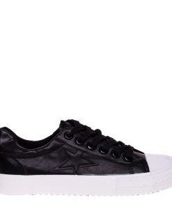 Pantofi sport dama Cadence negri - Incaltaminte Dama - Pantofi Sport Dama