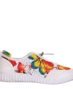Pantofi sport dama Carmel albi - Incaltaminte Dama - Pantofi Sport Dama