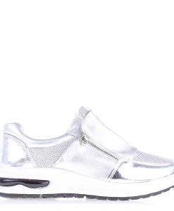 Pantofi sport dama Catina argintii - Incaltaminte Dama - Pantofi Sport Dama