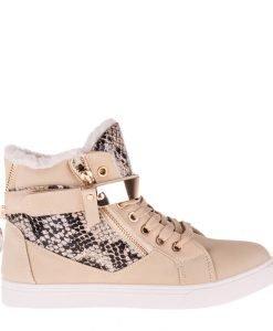 Pantofi sport dama Clain 2 bej - Incaltaminte Dama - Pantofi Sport Dama