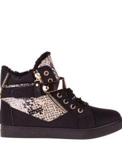 Pantofi sport dama Clain 2 negri - Incaltaminte Dama - Pantofi Sport Dama