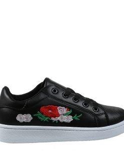 Pantofi sport dama Esmeralda negri - Incaltaminte Dama - Pantofi Sport Dama