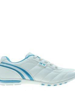 Pantofi sport dama Ethel albi cu albastru - Incaltaminte Dama - Pantofi Sport Dama
