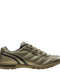 Pantofi sport dama Ethel aurii cu negru - Incaltaminte Dama - Pantofi Sport Dama