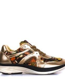 Pantofi sport dama Flora aurii - Incaltaminte Dama - Pantofi Sport Dama