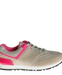 Pantofi sport dama Fly gri - Incaltaminte Dama - Pantofi Sport Dama