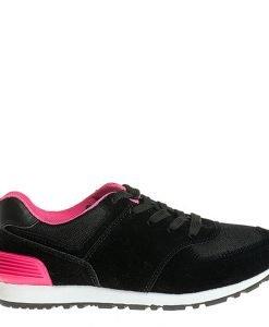 Pantofi sport dama Fly negri - Incaltaminte Dama - Pantofi Sport Dama