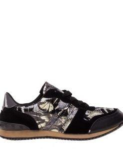 Pantofi sport dama Freda negri - Incaltaminte Dama - Pantofi Sport Dama