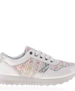 Pantofi sport dama Gloria albi - Incaltaminte Dama - Pantofi Sport Dama