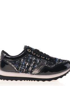Pantofi sport dama Gloria negri - Incaltaminte Dama - Pantofi Sport Dama