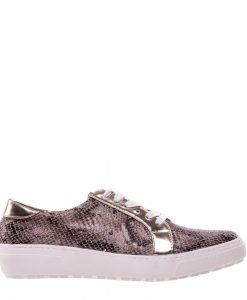 Pantofi sport dama Hernanda bej - Incaltaminte Dama - Pantofi Sport Dama