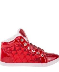 Pantofi sport dama India rosii - Incaltaminte Dama - Pantofi Sport Dama