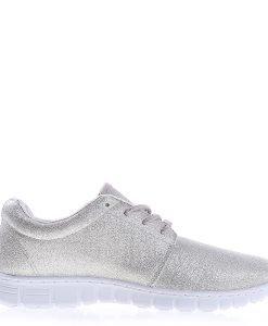 Pantofi sport dama Inga argintii - Incaltaminte Dama - Pantofi Sport Dama