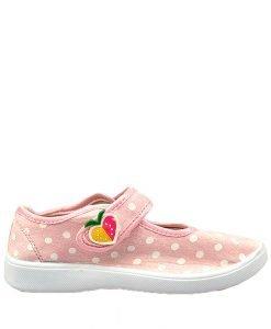 Pantofi sport roz pal pentru copii Rena - Promotii - Lichidare Stoc