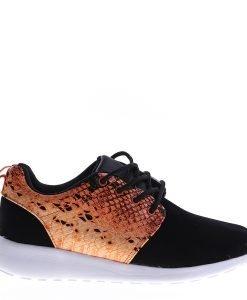 Pantofi sport unisex 256-2A portocalii - Incaltaminte Barbati - Pantofi Sport Barbati