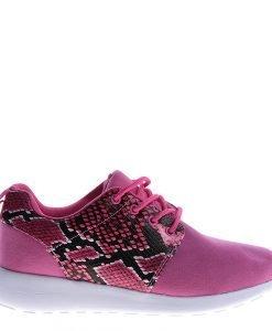 Pantofi sport unisex 256-5A roz cu rosu - Incaltaminte Barbati - Pantofi Sport Barbati