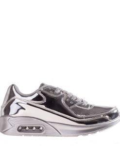 Pantofi sport unisex BK40 argintii - Incaltaminte Barbati - Pantofi Sport Barbati