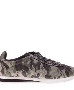 Pantofi sport unisex Old School camuflaj - Incaltaminte Barbati - Pantofi Sport Barbati