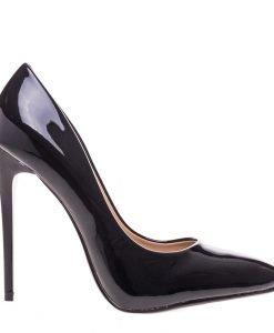 Pantofi stiletto Gayle negri - Incaltaminte Dama - Pantofi Stiletto