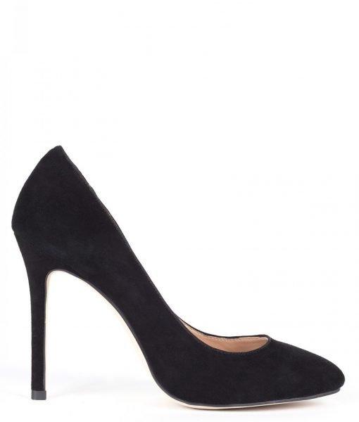 Pantofi stiletto din piele naturala Negru – Incaltaminte – Incaltaminte / Pantofi cu toc